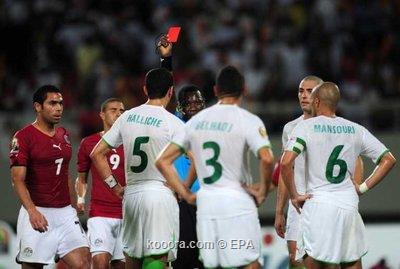مصر تفوز على الجزائر بالاربعة و تتأهل لنهائي افريقيا