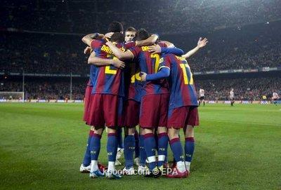 برشلونة يواجه اختبارا صعبا أمام