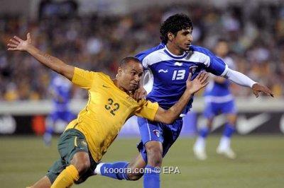 الازرق الكويتي يصطاد الكنغر الاسترالي