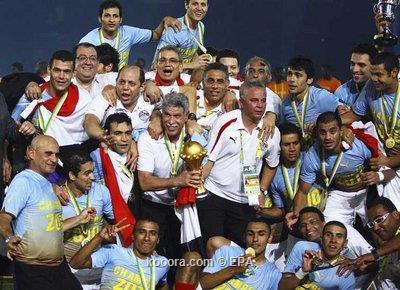 خمسة مصريين قائمة منتخب أفريقيا