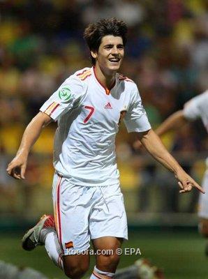نيوكاسل يرغب في استعارة الصاعد موراتا من ريال مدريد
