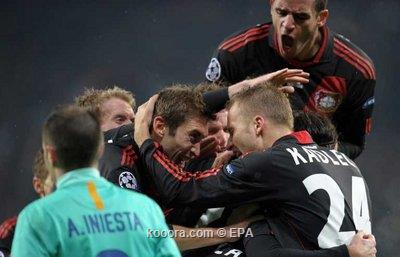 البارسا ينفض إرهاق الليجا ويصعق ليفركوزن بثلاثية في دوري أبطال أوروبا