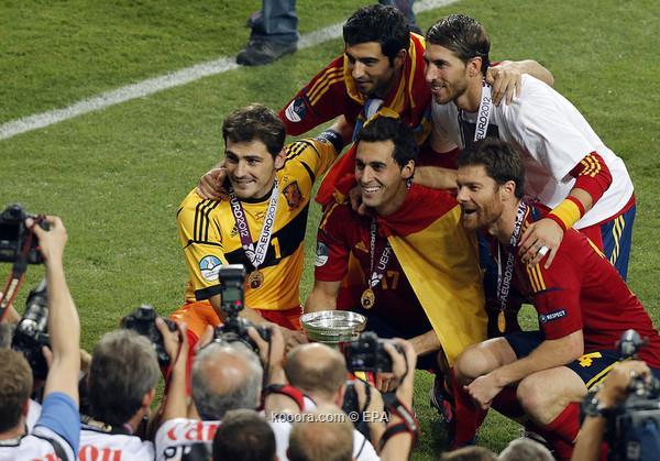 اسبانيا ببطولة اوروبا 2012 اسبانيا