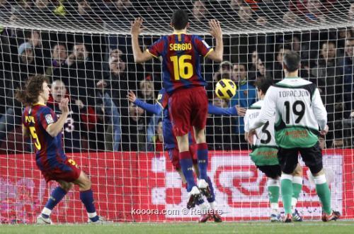 برشلونة يواصل انتصاراته الدوري الأسباني