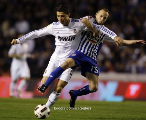 ريال يتراجع مجددا وراء برشلونة بعد التعادل مع ديبورتيفو  I.aspx?i=reuters%2f2011-02-26%2f%2f2011-02-262011-02-26t213938z_01_mvi04_rtridsp_3_soccer-spain_reuters