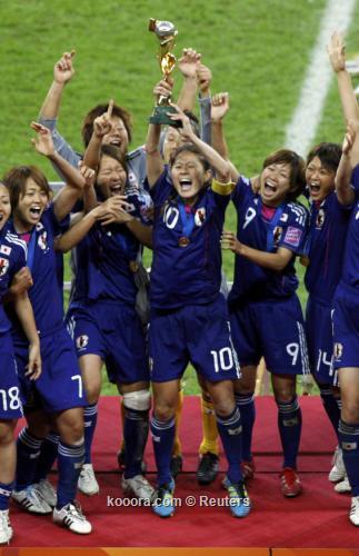 سيدات اليابان يرتقين بمستوى كرة القدم الاسيوية بعد الفوز بكأس العالم i.aspx?i=reuters%2f2