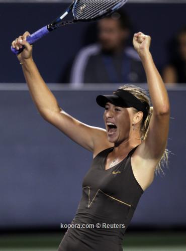 شارابوفا تفوز على زفوناريفا وتتأهل الى نهائي بطولة سينسناتي للتنس  I.aspx?i=reuters%2f2011-08-21%2f%2f2011-08-21t013613z_01_cin43_rtridsp_3_tennis-women_reuters