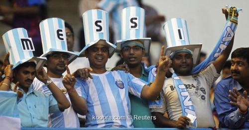 حمى كرة القدم اجتاحت الهند على هامش ودية الأرجنتين وفنزويلا i.aspx?i=reuters%2f2