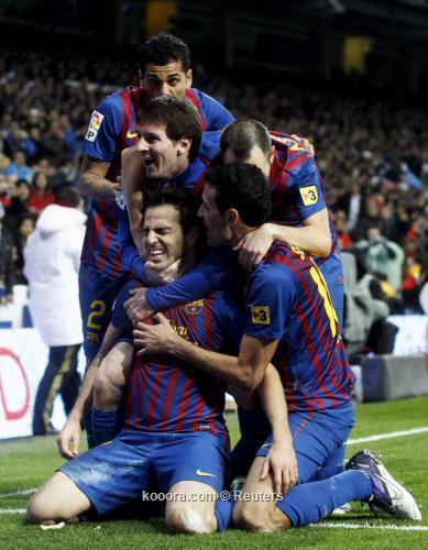 رالسعادة والإشادة تغلب على ردود فعل لاعبي برشلونة عقب الكلاسيكو i.aspx?i=reuters%2f2