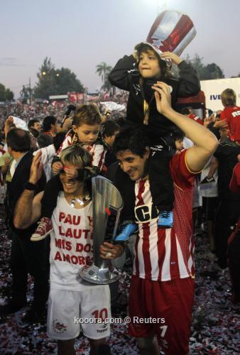 استوديانتس يفوز بالدوري الارجنتيني لكرة القدم