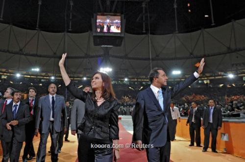 افتتاح استاد مغطى الأرجنتين استعدادا