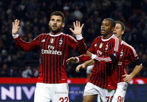 نوتشيرينو يعترف بأن ميلان كان باهتا في الشوط الأول أمام ارسنال