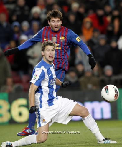 برشلونة يعتزم ضم مارتينيز من سوسيداد