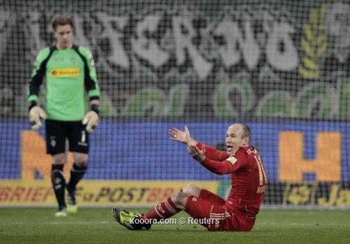 بايرن يجتاز بروسيا مونشنجلادباخ بعد مباراة ماراثونية
