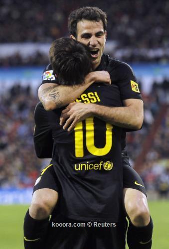 فابريجاس يغيب عن برشلونة أمام خيتافي في الليجا
