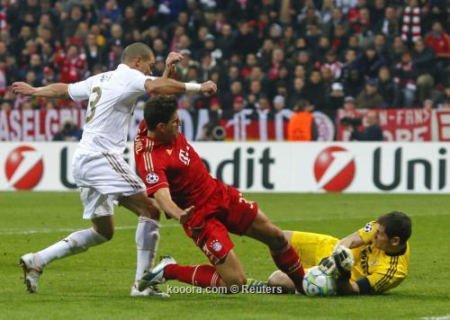 بايرن ميونيخ يكتب الهزيمة الأولى للريال في دوري الأبطال بهدف قاتل